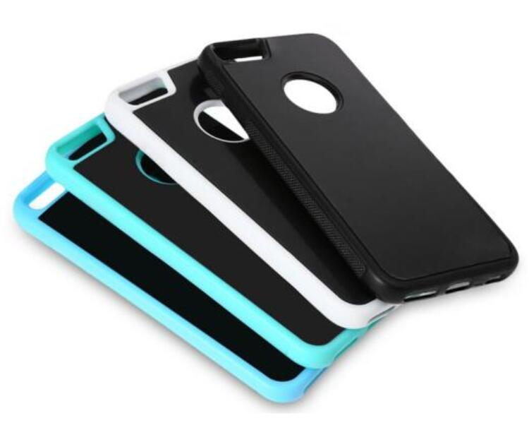 Self Sticky Case, Anti-Gravity Technology Hands-Free Selfie Shockproof Case for Apple iPhone 7/6/6s 4.7 Inch