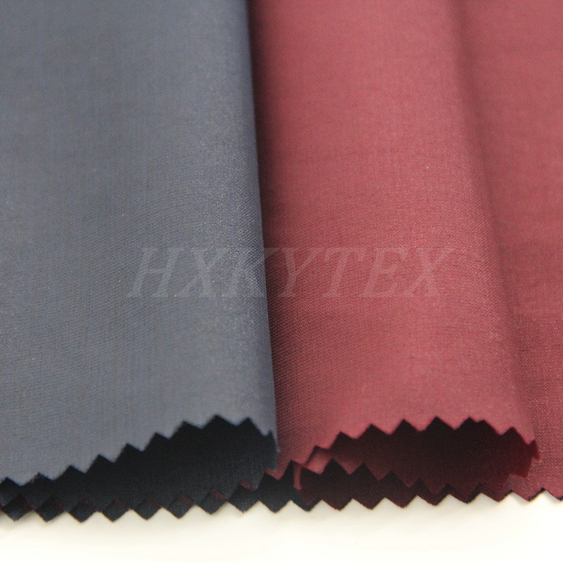 Bright Nylon with Polyester Blend Fabric for Jacket or Trench