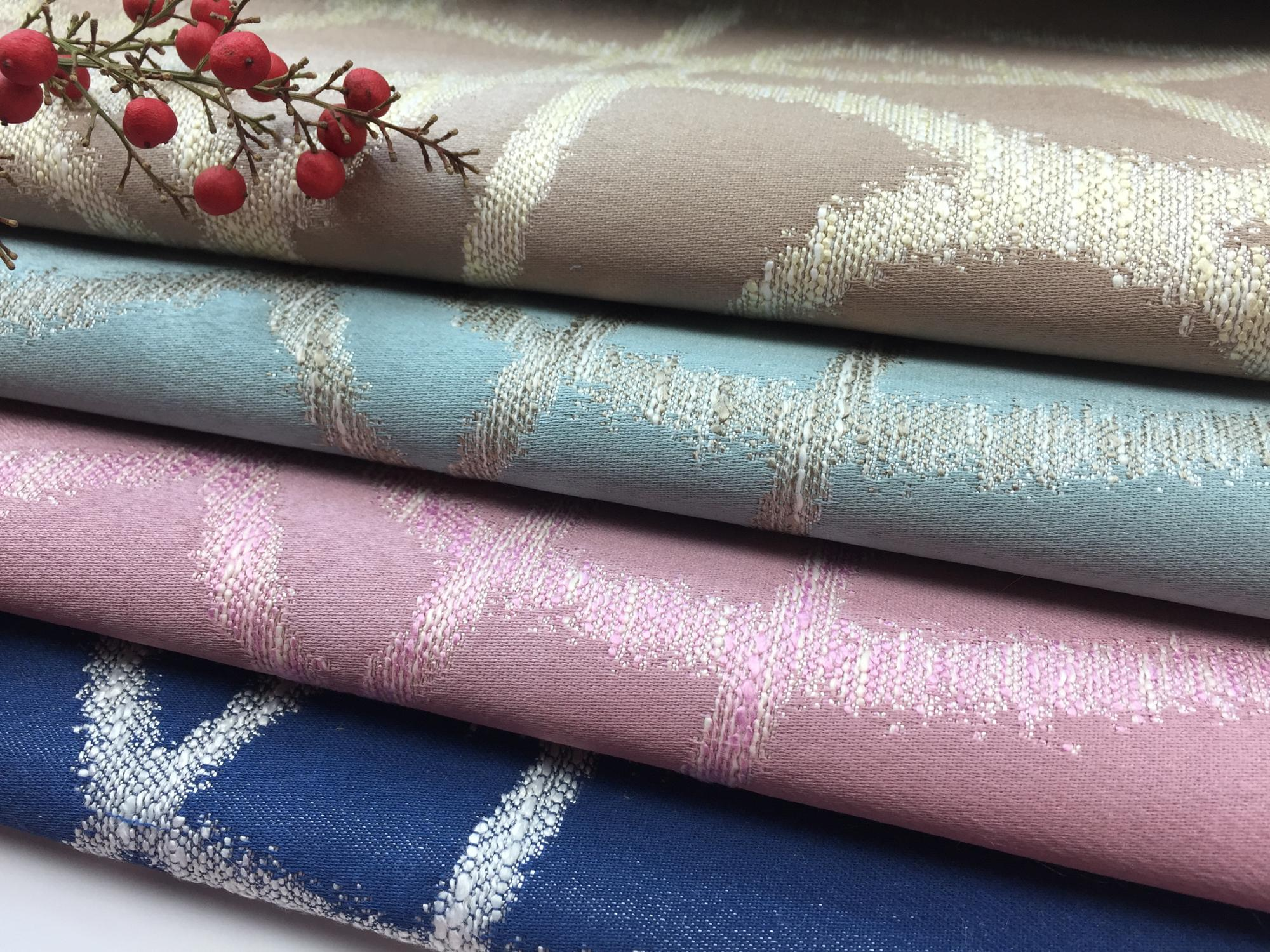 Cotton Polyester Microfiber Home Textile Curtain Fabric 1