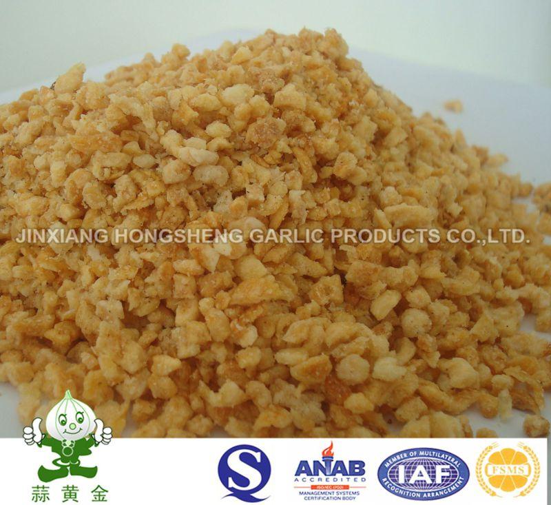 Fried Garlic Granules From Jinxiang Hongsheng Garlic Products