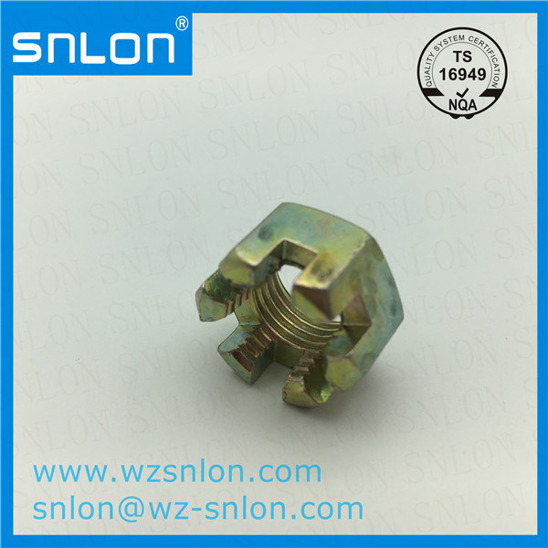 DIN935 Hexagon Slotted and Castle Nut