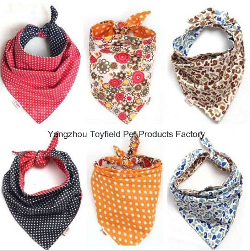 Dog Bandana Collar Cotton Adjustable Pet Bandana