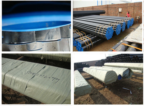 ASTM A53 B Carbon Steel ERW Pipes for Water Transmission
