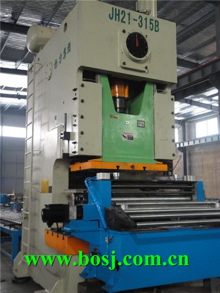 Stainless Steel Cable Tray Roll Forming Machine Supplier Vietnman (BOSJ-P-C)
