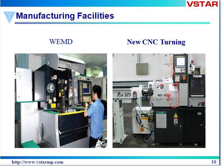 CNC Vertical Machining Center CNC Machining Parts Precision Part Auto Parts Vst-0941