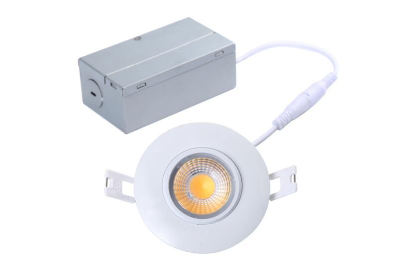 ETL 8W Dimmable 700lm Gimbal LED Recessed