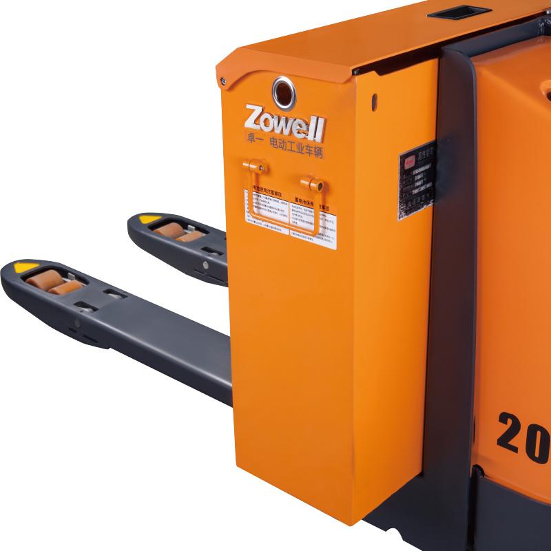 Le transpalette électrique du CE de Zowell 2 tonnes peut être adapté aux besoins du client