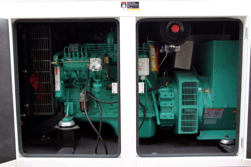 130kw/162.5kVA Cummins Enclosure Weatherproof Diesel Generator Set