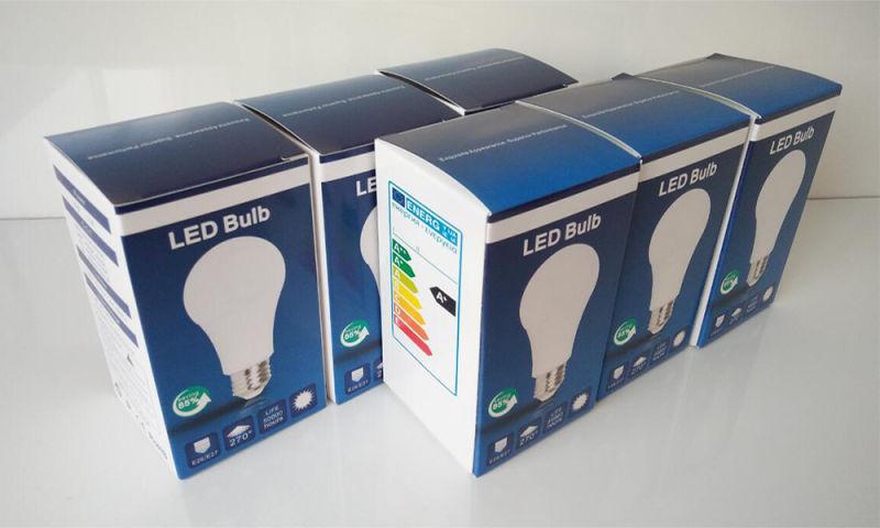 Wholesaleled Light Bulb 9W with 110lm/W CRI>80 2 Years Warranty