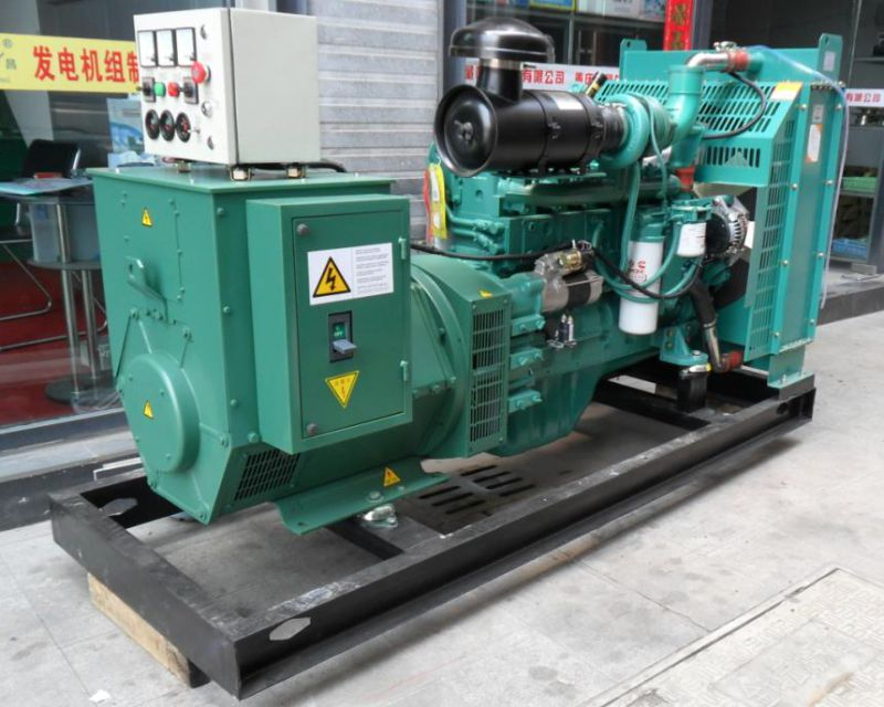 120kw Cummins Brand Diesel Generating Set with Factory Price