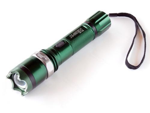 Dimmable Stun Gun Defibrillator Riot Flashligh8810