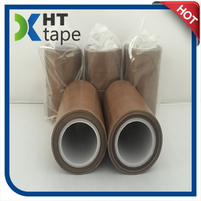 Brown Teflon Fiberglass Tape