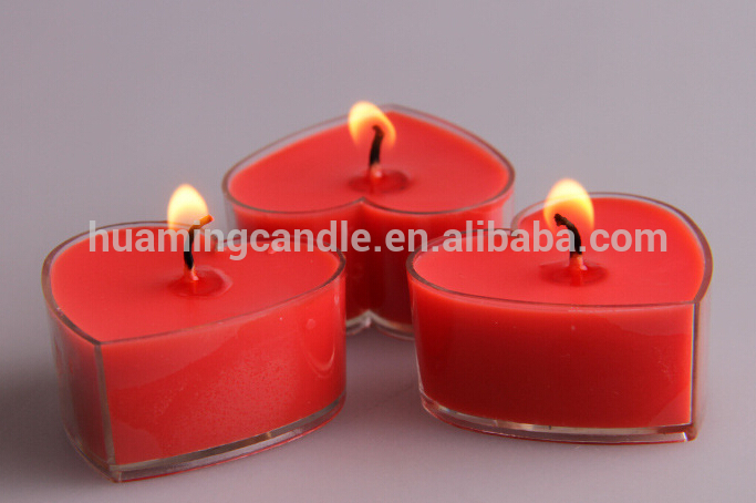 shaped tealight candles