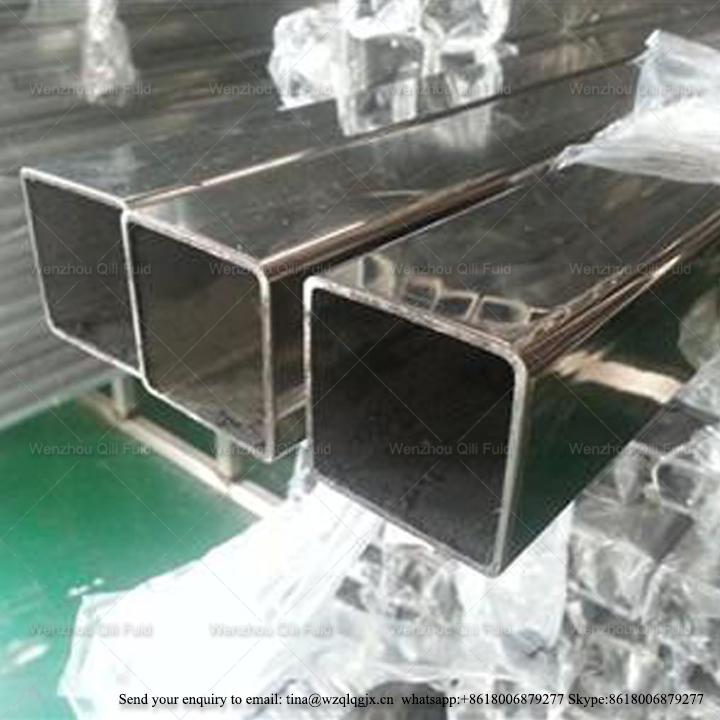 Sanitary Stainless Steel Sqare Sq Tube/Pipe Stock Bar Suppiler