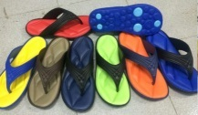The Slipper with Customized PE+Screen Printing Color