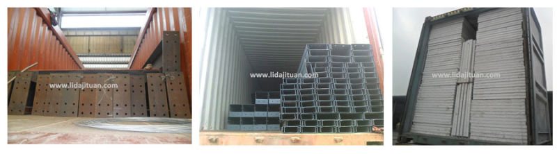 High Quality Light Steel Structure Prefabricated Warehouse in China