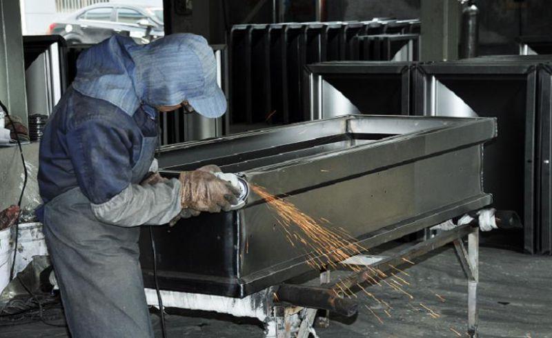 American Style Steel Casket (16899042)