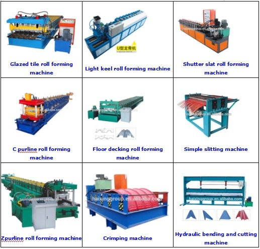 Roof Sheet Roll Forming Crimping Machine