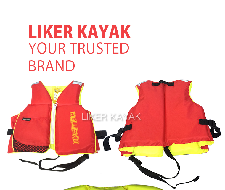 210d Terylene Oxford Textile EPE Foamed Polyethylene Inflatabl Lifevest No Ce for Kids