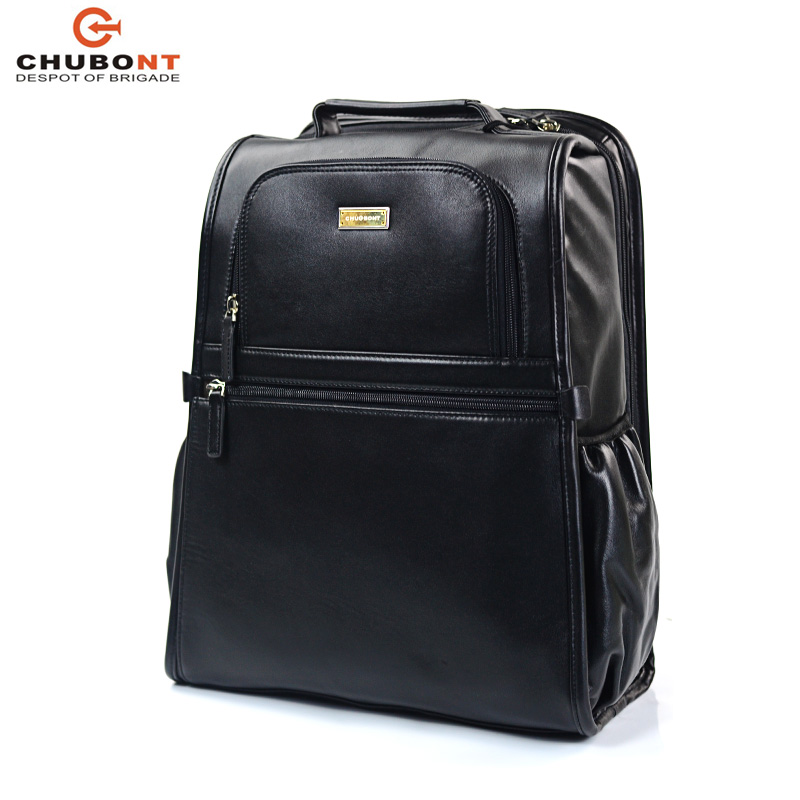 Chubont Luxury Cow Leather Backpack, Travel Bapck for Daily Use