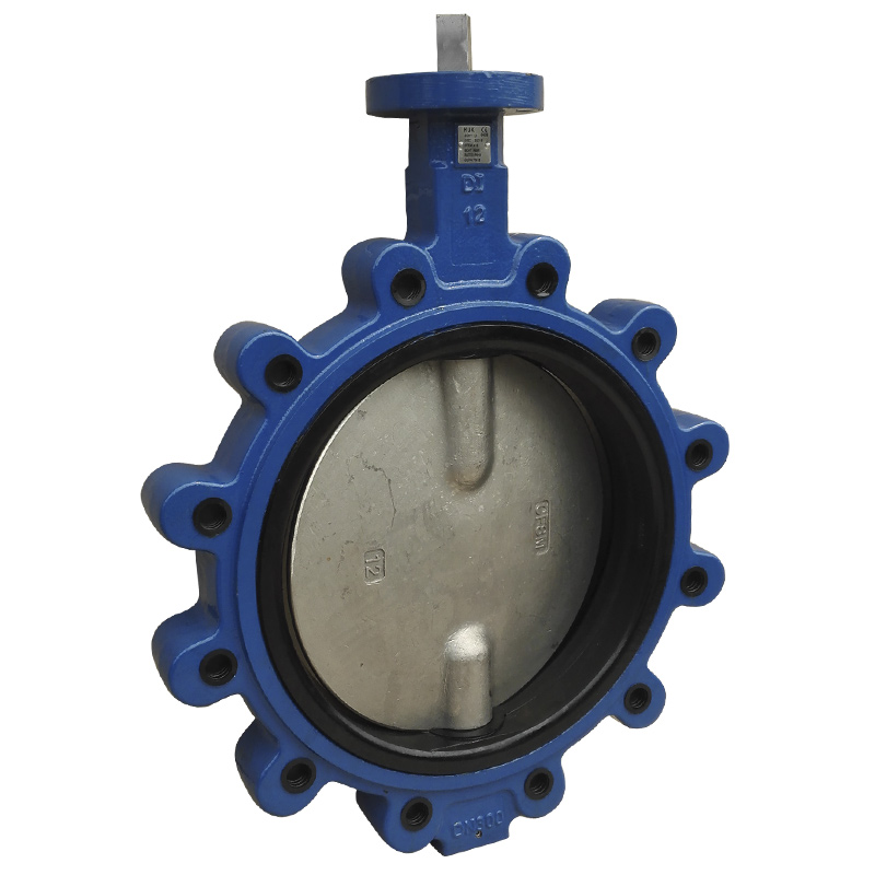Wafer Lug Type Butterfly Valve, Lever Operator