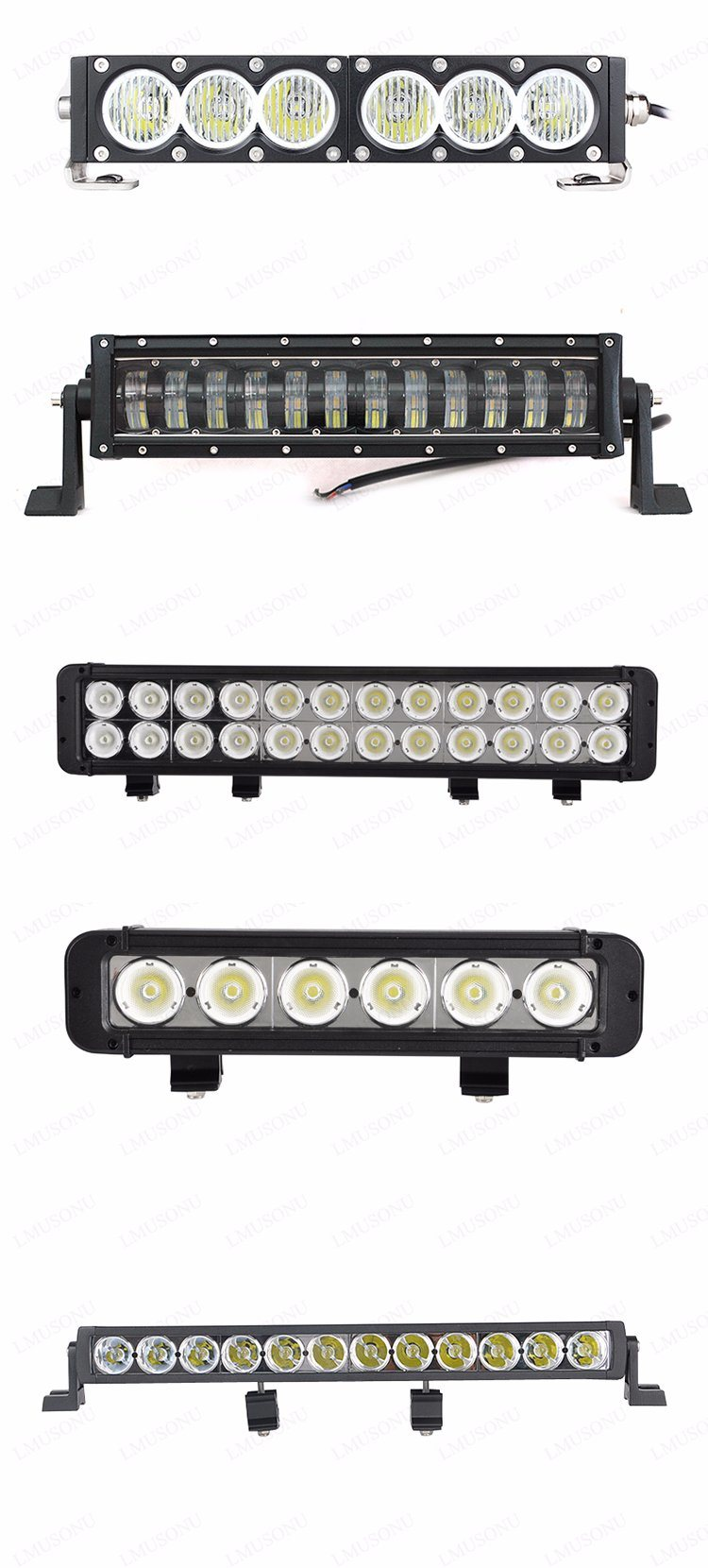 36W 72W 120W 180W 240W 288W 300W 50 Inch CREE Car off Road LED Light Bar