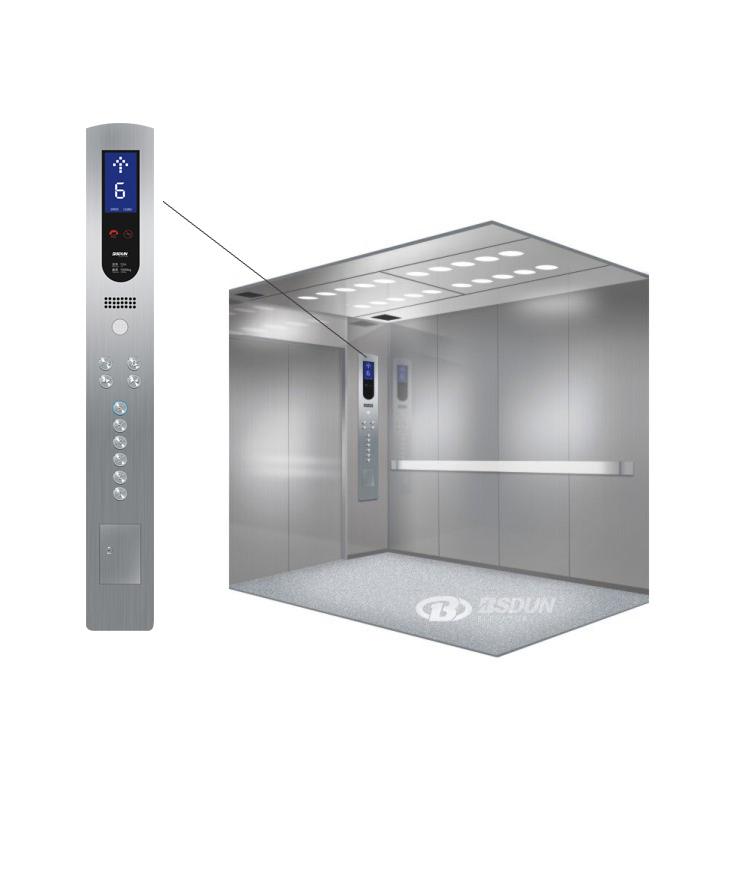 Bsdun Brand Medical Equipment Low Cost Hospital Elevator