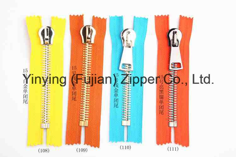 15# Big Metal Zipper for Shoes Handbags