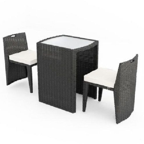 Brown Garden Rattan Patio Furniture with 2 Seats