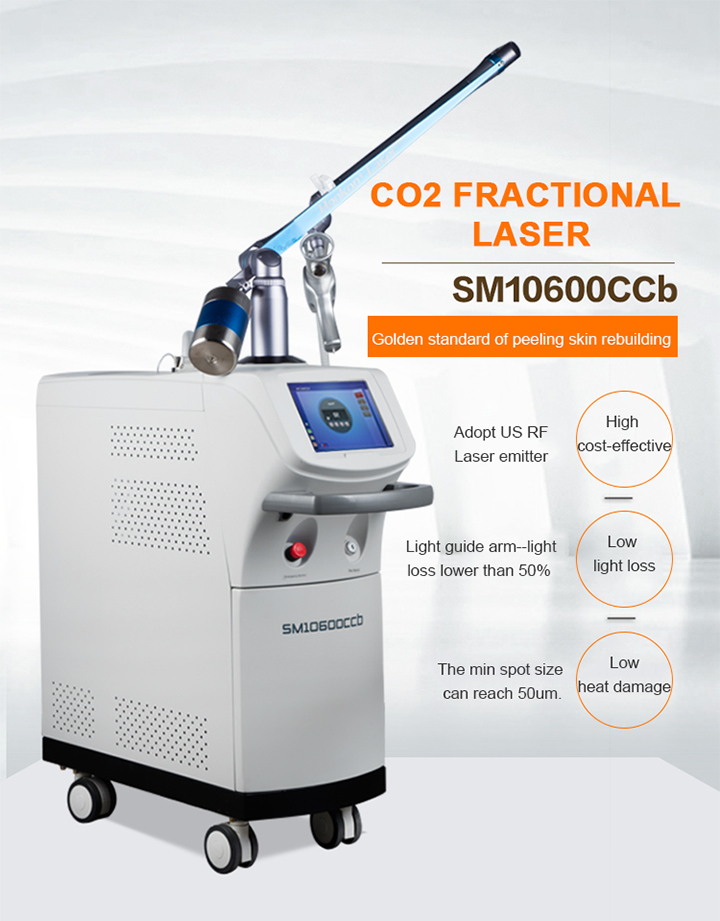 Professional CO2 Laser Machine for Freckle Removal Factory