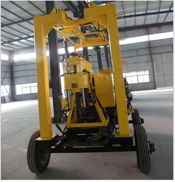 Crawler Mounted Self-Propelled Drilling Rig Machine with Best Price