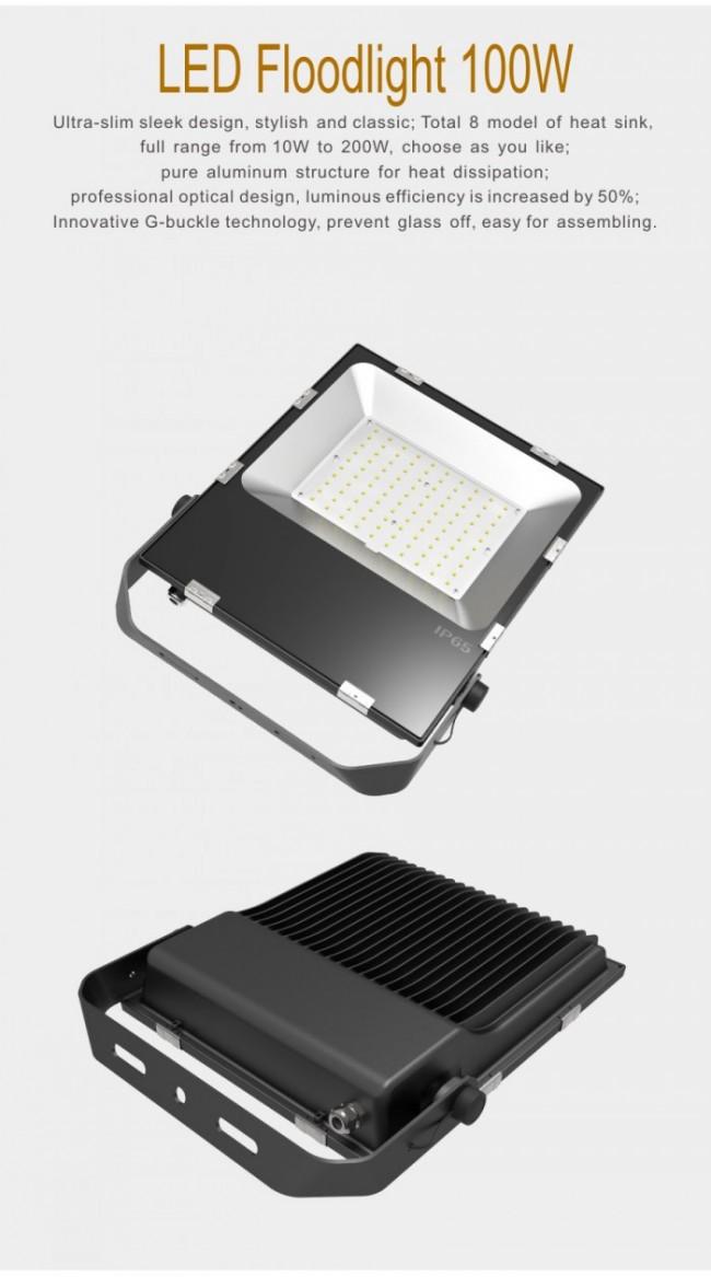 Osram Chip 3030 100W High Power LED Flood Light Aluminum