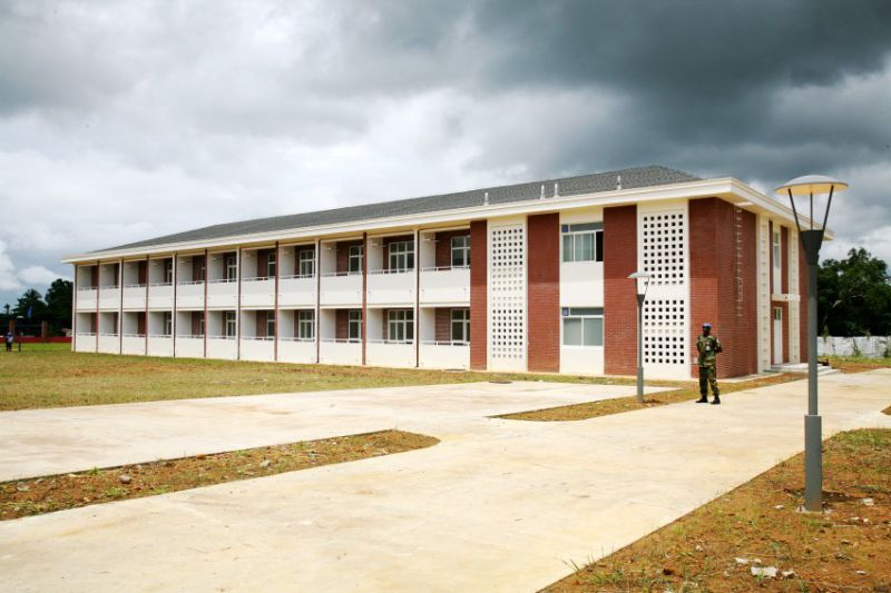 Prefabricated Light Steel Structure Dormitory Building (KXD-SSB1394)