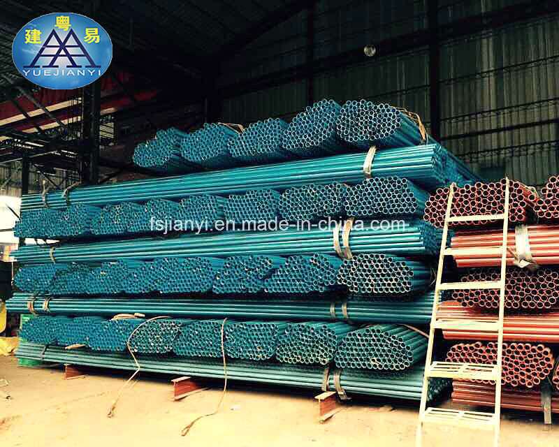 Used Seamless Galvanized Steel Pipe in Normal Size for Scaffolding