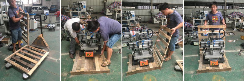 High Quality Pad Printing Machine with Multiple Side Print