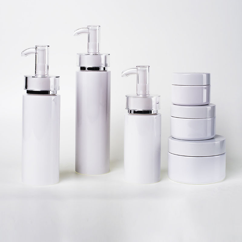Heavy Wall Pet Lotion Bottles with Jars (EF-C22)