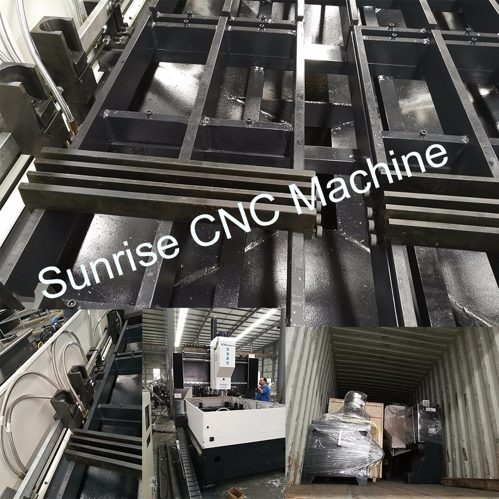 Electric Control Type CNC Drilling Machine Used in Steel Structure