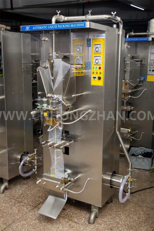 Hongzhan HP1000L-III Automatic Liquid Packing Machine for 1L Water Laminated Film Pouch