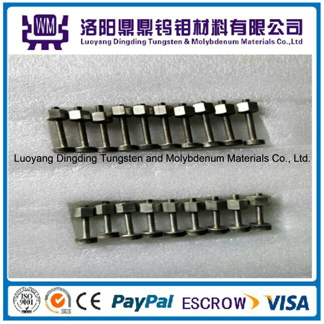 Top Grade Customized High Temperature Tungsten and Molybdenum Bolts/Nuts/Screws in China