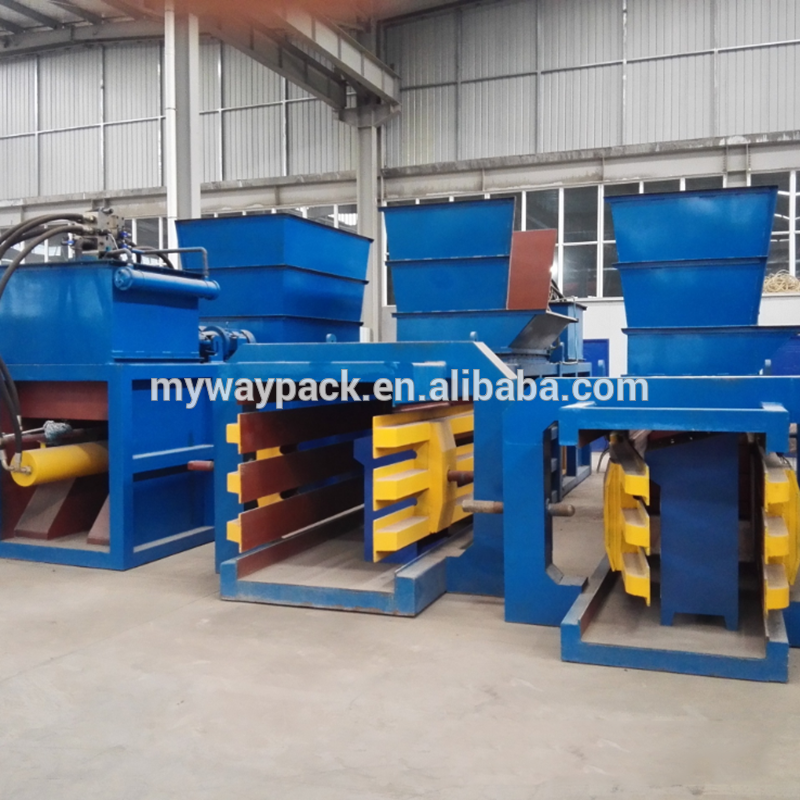 aluminium scrap baler machine