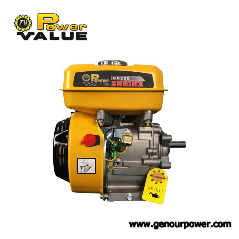 Factory Price Single Cylinder Gasoline Engine Gx200 6.5HP