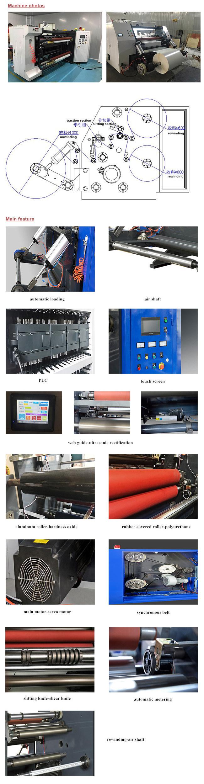 Paperboard Jumbo Slitter Rewinder Line Slitting Machine