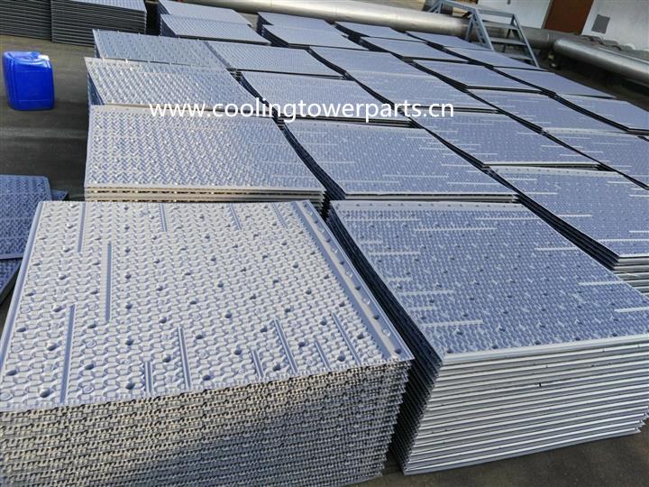 Black 750mm PVC Sheet or Block Cooling Tower Filling