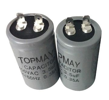 Topmay AC Motor Run Electrolytic Capacitor Cbb60 450V