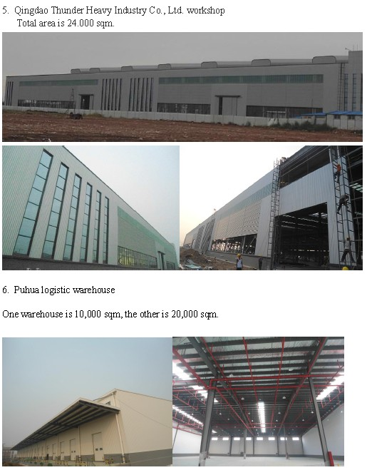 Structural Steel Prefabricated Construction Workshop (KXD-SSB1498)
