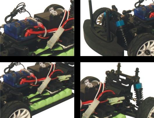 1/16 Electric Children Car Battery Car for Children Toy Car 7.2V