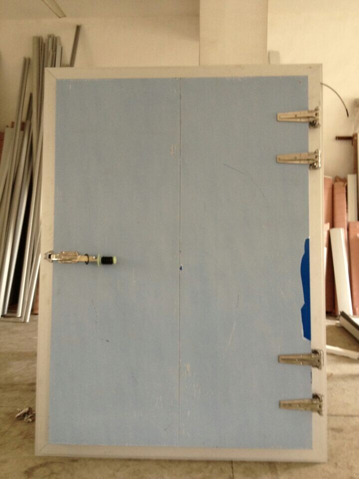 Semi-Sunk Hinge Door with Aluminium Sheet