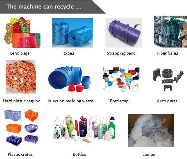Waste Plastic Recycling Granulating Pelletizing Machine