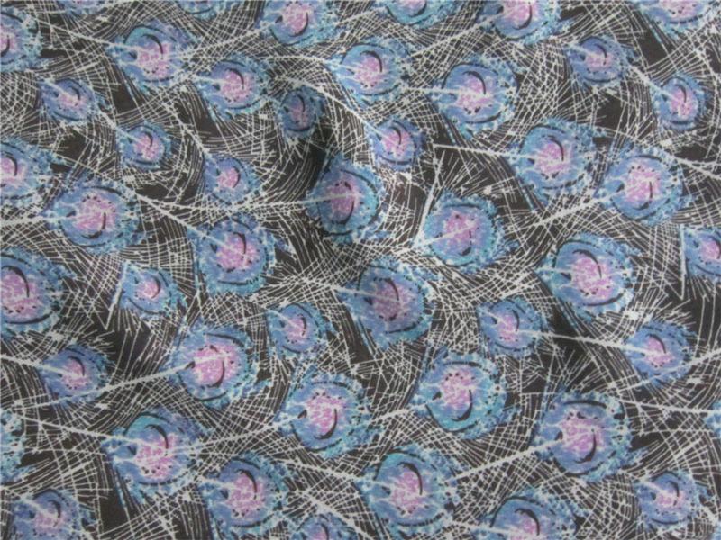 50d Polyester Crepe Chiffon Printing Fabric for Garment (XSC013)
