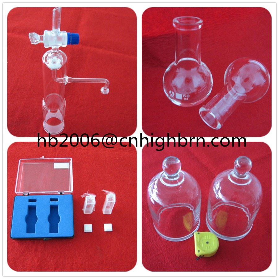 Baibo Clear Quartz Glass Petri Dish